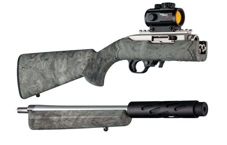 Hogue 10 22 Takedown Stock Rubber Over Molded Takedown