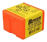 Berger Elite Hunter Bullets 338 Caliber 250 Grain Hybrid Match BT - Qty 100