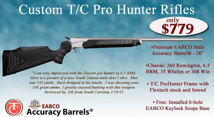 how to change barrels on a tc pro hunter