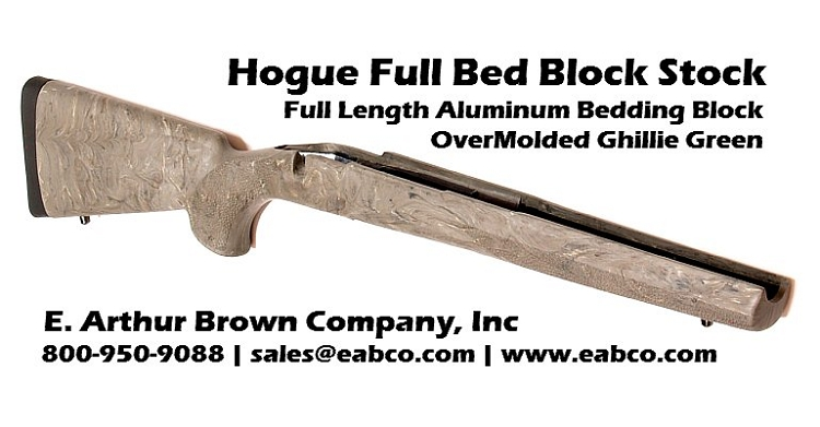 Hogue Full Bed Block Stock Weight