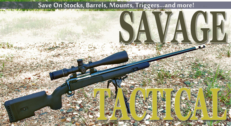 Choate Tactical Savage Stock