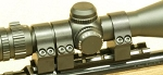 TC Contender G2 Scope Mount Keylock 3-Ring Silver