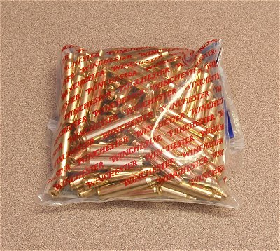 204 Ruger Brass Winchester Brand (100)