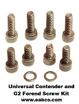 Universal Contender and G2 Forend Screw Kit - Replacement Screws