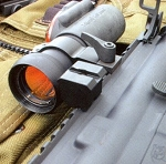 Warne Scope Mounts Side Mount Adaptor for Tactical Applications