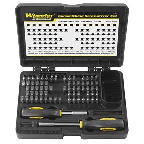 wheeler basic 72 gunsmith screwdriver set. Black Bedroom Furniture Sets. Home Design Ideas