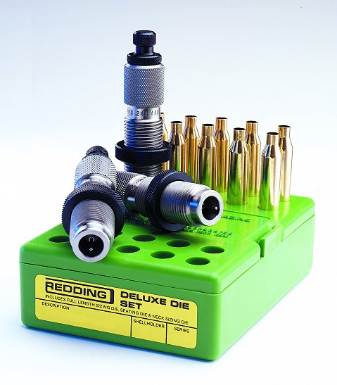 Redding 280 Remington Ackley Improved Deluxe 3-Die Set