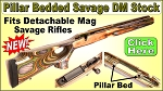 Savage Laminated Thumbhole Stock for Detachable Mag Rifles by Revolution