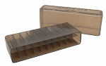 Berrys 243/308 Slip Top Ammo Box Smoke - 20 Rnds
