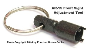 AR-15 Front Sight Adjustment Tool