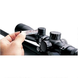 Leupold Retractable Ballistics Charts for Riflescope-fits 30mm Tube