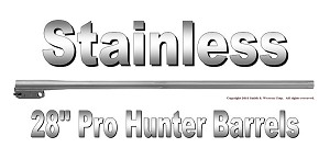 "TC Pro Hunter Barrel 28"" Stainless Fluted with No Sights"