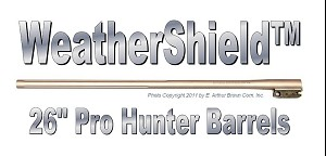"TC Pro Hunter Barrel 26"" Weather Shield Fluted with No Sights"