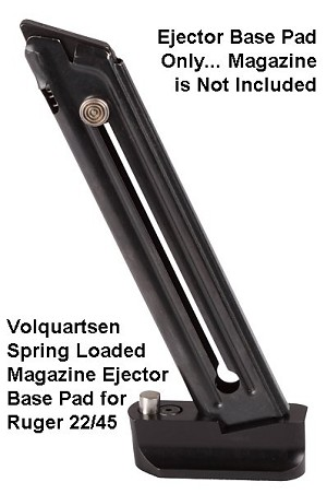 Volquartsen Magazine Ejector Base Pad For Ruger 22 45 Is