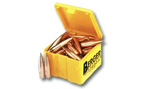 Berger Match Target Bullets .243/6mm  Caliber 95 grain VLD