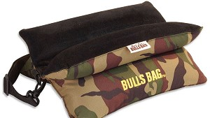 Bench Bulls Bag 15.5 Camo/Suede Shooting Rest