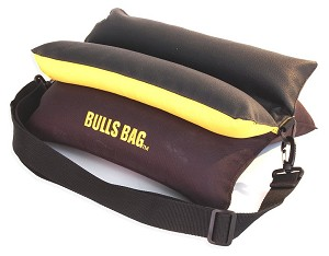 "Bargain Bulls Bag Shooting Rest 15"" Black/Gold"