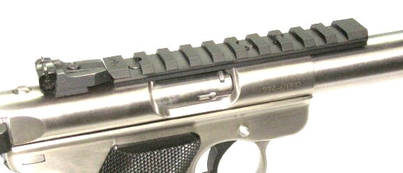 Picatinny Rail Mount for Ruger Mk I, II, III, IV and 22/45