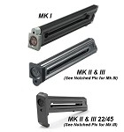 Ruger Pistol Magazines for Ruger Mark I, Mk II, and Mk II 22/45 Pistols
