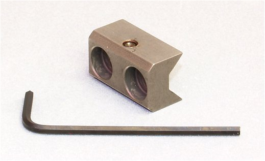 Adjustable Tension V-Block for Ruger 10/22 Barrel Assembly