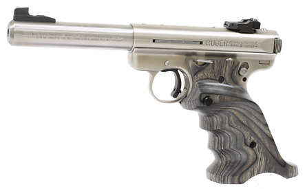 Left Handed Target Grips For Ruger Mk Ii Laminated Wood By