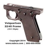 Volquartsen Assembled Lower Frame for Ruger Mark II, Mark III, 22/45 1911 Style