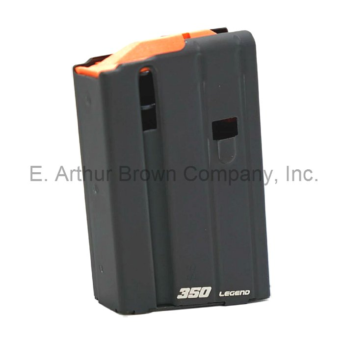 350 Legend Magazine fits AR15, 5 Rounds by ASC