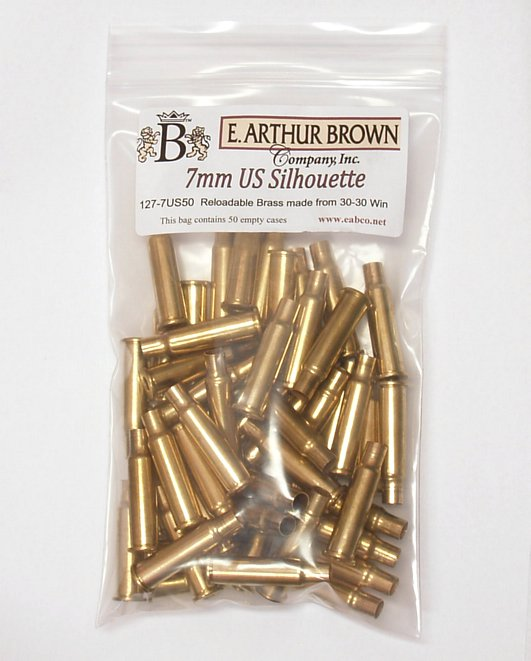 7mm US Brass 50 - 7mm Ultimate Silhouette Brass