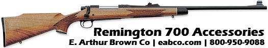 Stocks, Triggers, Scope Mounts for Remington 700 Rifles