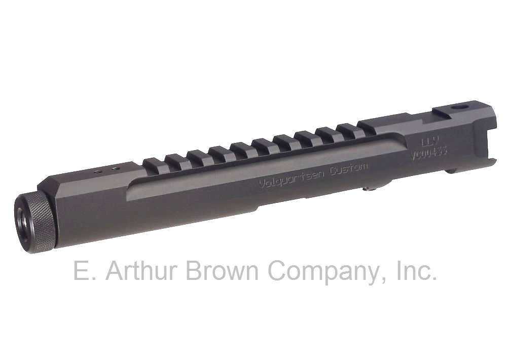 Volquartsen LLV Competition Pistol Upper, Black, 4.5 inches [VC2LLV-B-4]