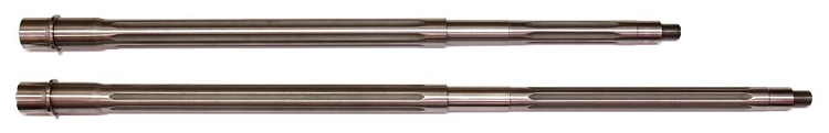AR-15 HBAR Accuracy Barrels by EABCO - Stainless Fluted Threaded 5.56 NATO/.223 Rem National Match