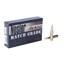 Closeout Quality, High-Grade Nosler 300 AAC Blackout 220gr Custom Competition Match Grade Ammo-20 count
