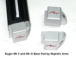 Magazine Base Pad for Ruger Mk II, MkIII, and Mk IV by Majestic Arms