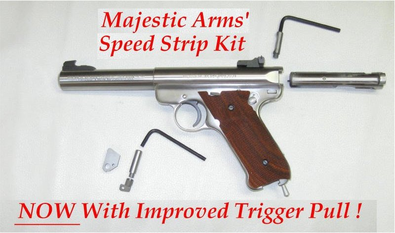 Speed Strip Kits for Ruger Mk I, II, III, and 22/45