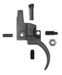 Rifle Basix Trigger for Ruger Bolt Action Rimfire- Silver