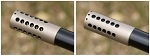 Brockman Open/Close French Gray Muzzle Brake - Installed
