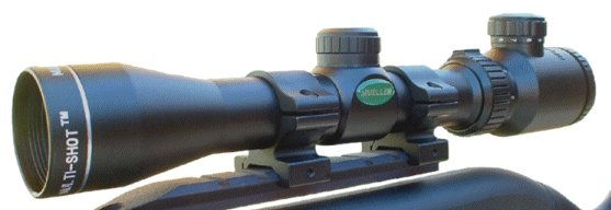Mueller Riflescopes 2-7X32 Red Dot