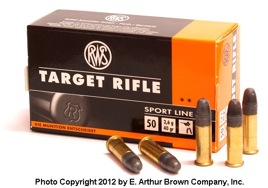 RWS Target Rifle Subsonic 22 LR Ammo in Boxes or Bricks