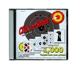 Click-n-Shoot Targets (CD) -Print 1000 Targets from Your PC