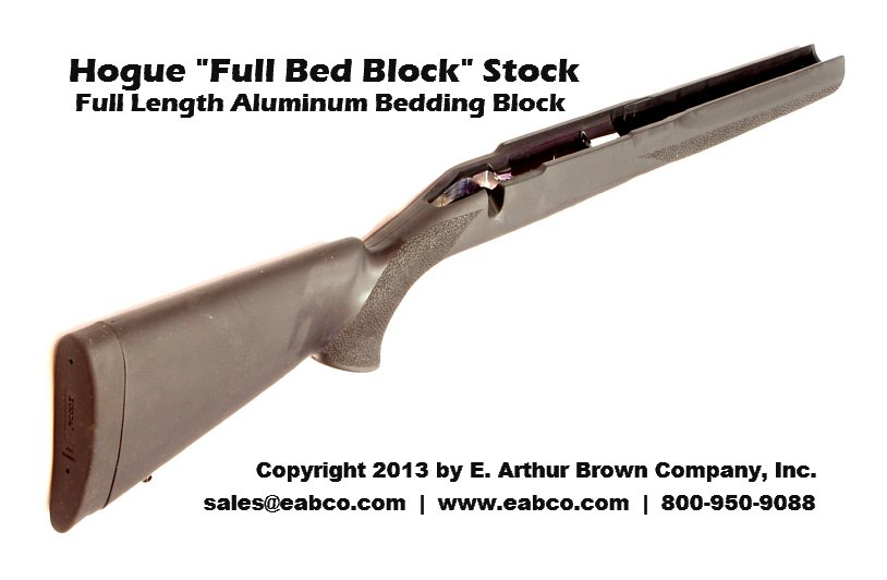 Hogue Savage Full Length Bed Block Stock - Black