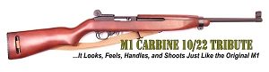 M1 Carbine Replica Ruger 10/22 Stock and Tribute