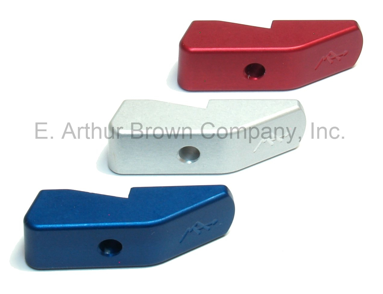 Majestic Arms Magazine Base Pads fit Ruger MKIV 22/45 | Red, White, Blue 3-Pack