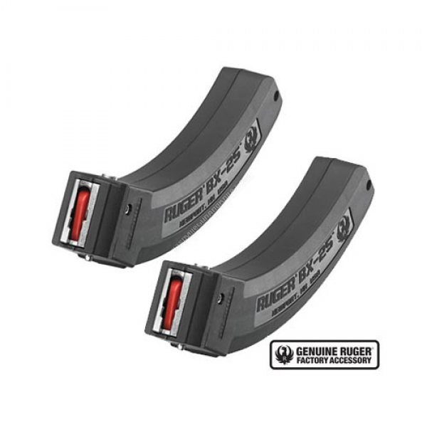 Ruger 90548 BX-25 Magazine 2-Pack - Two 25 Round Ruger 10/22 Magazines