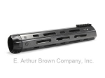 AR-15 Carbon Fiber Handguard 12'' M-LOK w/Sight Rail