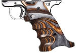 Volquartsen Mk IV Laminate Wood Pistol Grip, Brown/Gray, Right Hand