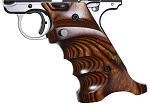 Volquartsen Mk IV Laminate Wood Pistol Grip, Brown, Right Hand