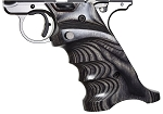 Volquartsen Mk IV Laminate Wood Pistol Grip, Gray, Right Hand