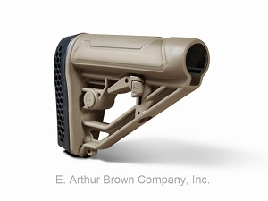 Adaptive Tactical AT-02012-E EX-AR Rifle Stock, Mil Spec, FDE