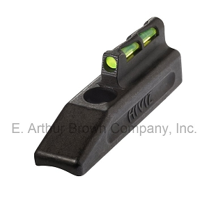 HiViz HRBLW01 LiteWave Front Sight fits Ruger Mark I, II, III, IV with Steel Bull Barrel