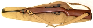 M1 Carbine Replica Gun Case - Faux Fur Lined